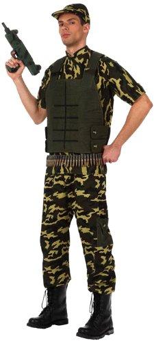 Atosa- Disfraz militar soldado camuflaje, M-L (10304 ...