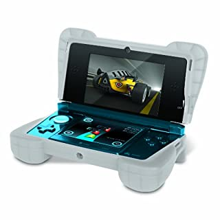 """Comfort Grip for Original 3DS (Not the """"NEW"""" version) - Silicone Protective Cover Gives Your 3DS Armor - (Clear White) (B004LQPFJK) 