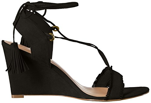 Zendaya Mesa Black Women's Wedge Daya Sandal by CqwOnZx0