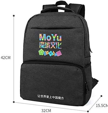 MONTOJ Cool Colorful Puzzle Piece Rainbow Polyester Travel Backpack Laptop Backpack