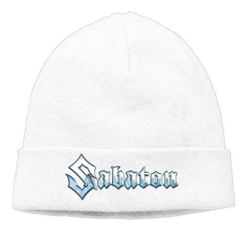 EWIED Men's&Women's SABATON Patch Beanie TravellingWhite Caps Hats For Autumn And - Watches Mens Winnipeg