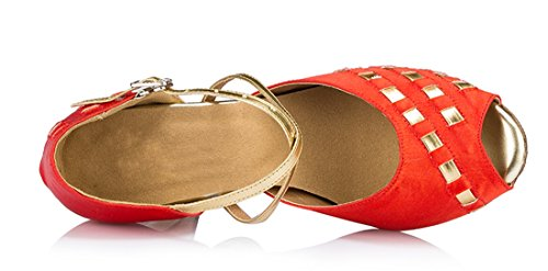 Joymod Heel e MGM Jazz Donna 8cm Moderno Red 1pqUdRwq