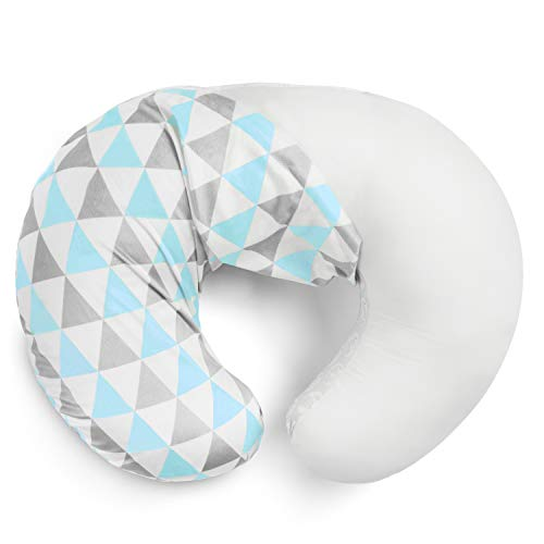 Nursing Pillow CoverBlue Arrows Collection by BaeBae Goods