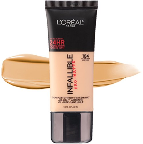 L'Oréal Paris Makeup Infallible Pro-Matte Foundation, 104 Golden Beige, 1 fl. oz. by L'Oreal Paris (Image #5)