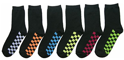Children'S Ankle Socks - Black With Checkered Soles - Size 2-4 [360 Pieces] *** Product Description: Children'S Ankle Socks - Black With Checkered Soles - Size 2-4These Children'S Ankle Socks Come In All Black With Checkered Soles In Assorted Col ***