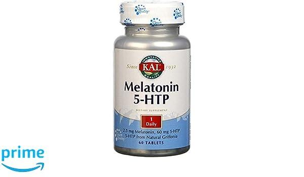 Melatonin con 5-Htp Accion Retardada 60 comprimidos de 1,9 mg de ...