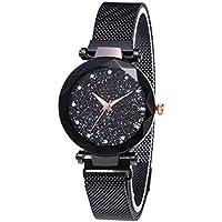 Women's wristwatch magnetism - black color , 2724711238825