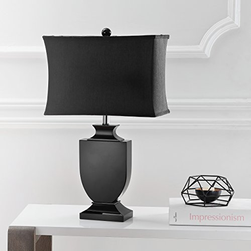 Price comparison product image Safavieh Lighting Collection Darcy Black Crystal Urn 23.5-inch Table Lamp