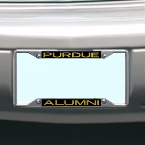 (NCAA Purdue Boilermakers License Plate Frame Alumni)