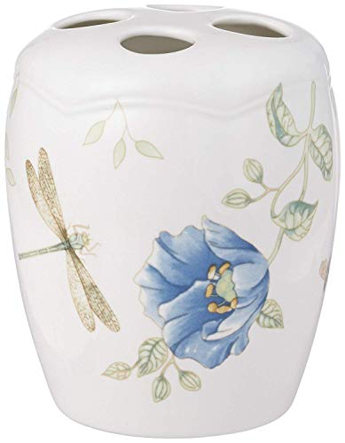Lenox Classic Butterfly Meadow Porcelain Toothbrush Holder 4