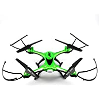 QingFan H31 Quadcopter Drone with HD Camera RTF GPS 4 Channel 2.4GHz 6-Gyro with Altitude Hold Function,Headless Mode and One Key Return Home (Green)