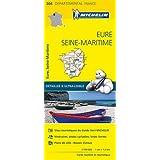 Carte Eure, Seine-Maritime Michelin