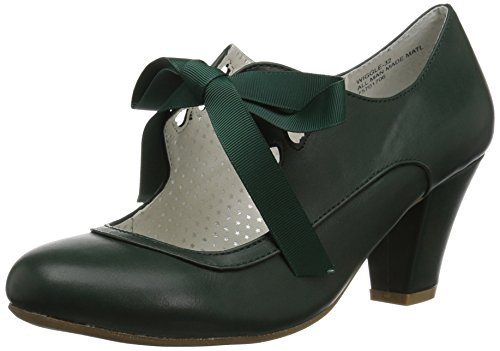 Couture Up Faux 32 WIGGLE Green Dark Leather Pin S1xqw6CP