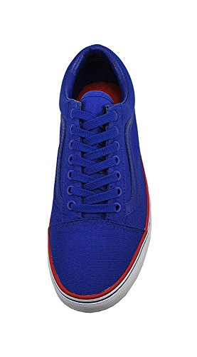 Vans Old Skool Unisex Scarpe Solstice 2016 Blu Royal / Bianco / Rosso Fashion Sneaker Blu Royal, Bianco, Rosso