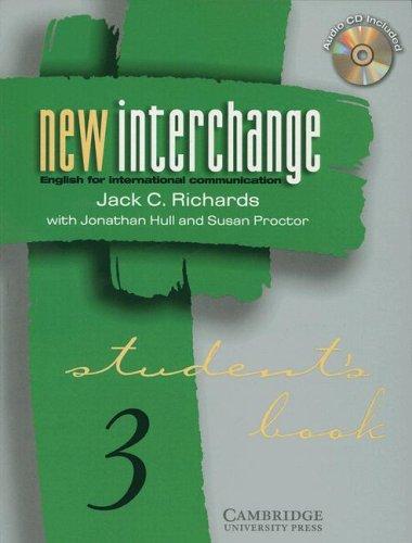 New Interchange Level 3 Students Book Cd 3 Bundle  New Interchange English For International Communication