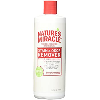 Natures Miracle Products Stain and Odor Remover, 24-Ounce