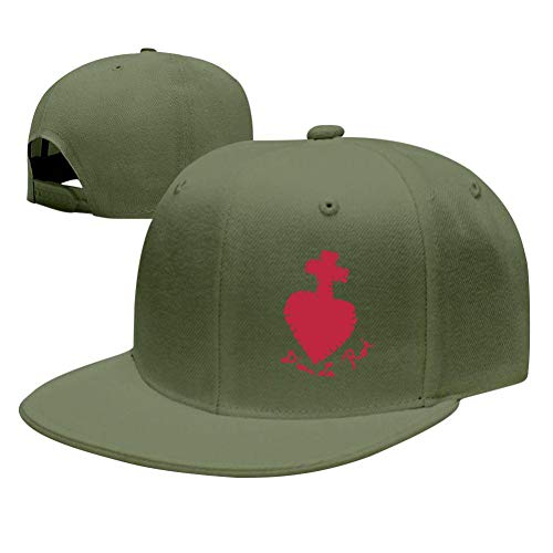Unisex Baseball Caps Sacred Heart in Stitches Women Man Hat Green ()