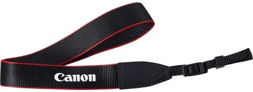 Genuine Original OEM Canon Red 1 Width Neck Strap for Canon EOS and EOS Rebel Series DSLR Cameras
