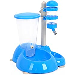 Pet Dog Automatic Feeder Hanging Water Dispenser Easy Clean Bowl for Small Large Dogs Pet Hanging Drinking Fountains