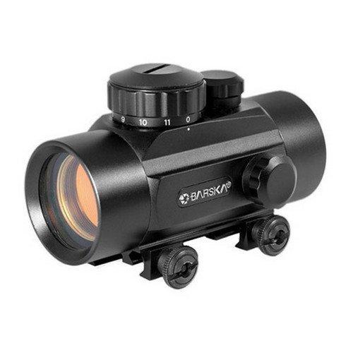 30mm, Red Dot, Short Tube, Black by BARSKA