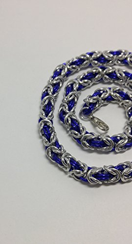necklace, chainmaille, chainmail, byzantine necklace