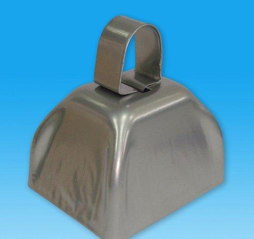 DollarItemDirect 3'' Metallic Silver Cowbell, Case of 144