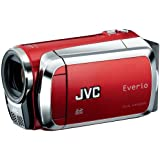 JVC Everio MS120 Dual Flash Camcorder (Red) (Discontinued by Manufacturer)