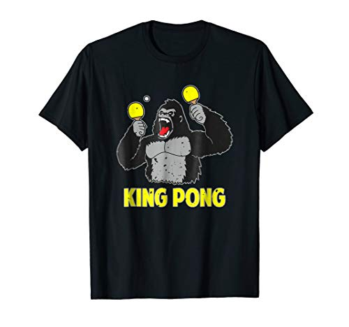King Pong Shirt Vintage Table Tennis T Shirt
