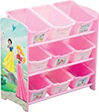 Disney Princess 9 Bin Toy Organizer