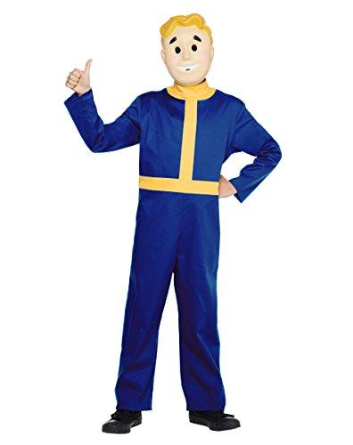 [Spirit Halloween Kids Vault Boy Costume - Fallout,Blue,L] (Halloween Costumes At Spirit Halloween)