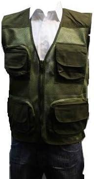 Adults Mesh Multipocket Fishing Vest Gilet Summer Shooting Photography