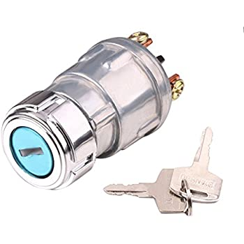 Amazon dorman 85936 conduct tite universal key starter switch ignition switch with key lenmumu universal 3 wire engine starter switch for car motorcycle tractor forklift truck scooter trailer cheapraybanclubmaster Image collections