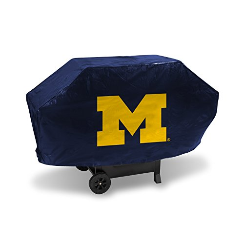 NCAA Michigan Wolverines Vinyl Padded Deluxe Grill - Grill University Gas Cover