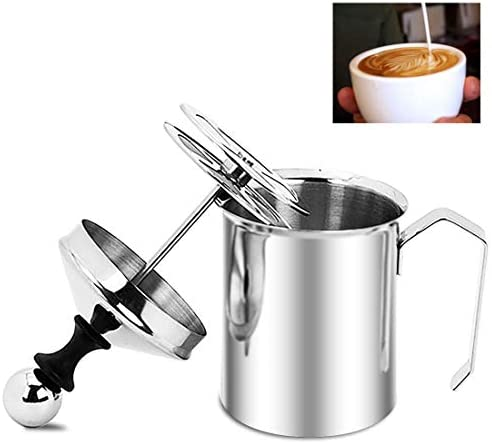 Stainless Frother Manual Operated Cappuccino product image