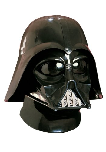 Star Wars Darth Vader Deluxe Adult Full Face Mask, Black, One Size ()