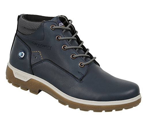 Discovery EXPEDITION Womens Leather Outdoor Backpacking Sarek Trek Hiking Boots Patriot Blues 6