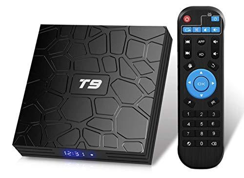 T9 Android 9.0 TV Box 4GB DDR3 RAM 32GB ROM RK3318 Bluetooth 4.0 black