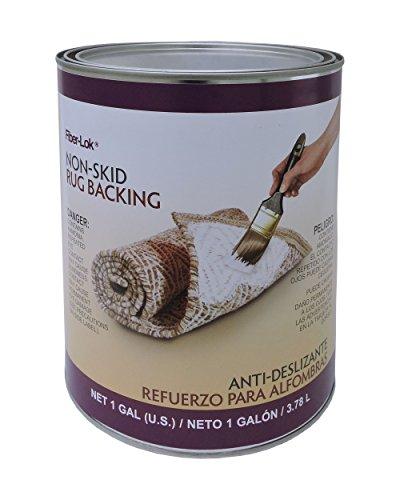 - Environmental Technology Fiber-Lok Non Skid Rug Backing, 1 gal