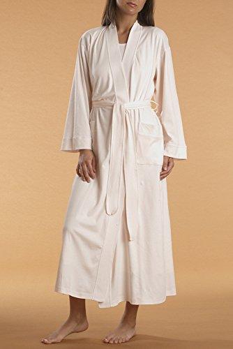 P-Jamas Butterknits Long Wrap Robe (355660) XL/White ()
