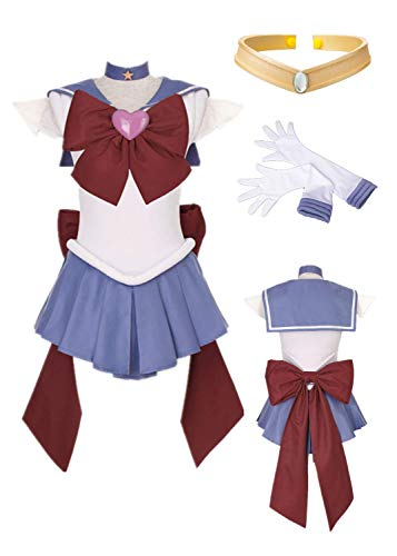 Sailor Moon Sailor Saturn Cosplay Costume SuperS