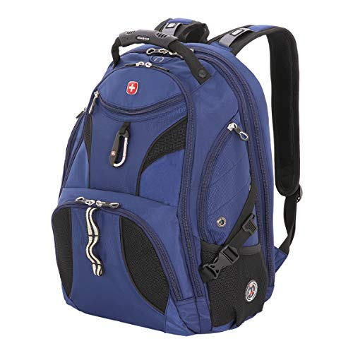 - SwissGear SA1923 Rich Navy TSA Friendly ScanSmart Laptop Backpack - Fits Most 15 Inch Laptops and Tablets