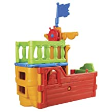 ECR4Kids Buccaneer Boat with Pirate Flag