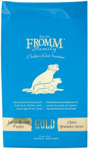 Dog Food: Fromm Family Gold Large Breed Puppy