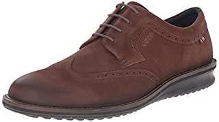 ECCO Men's Contoured Wing Tip, Coffee, 41 EU/7-7.5 M US (B00SYHB5AK) | Amazon price tracker / tracking, Amazon price history charts, Amazon price watches, Amazon price drop alerts
