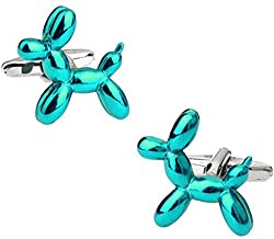 AngelShop Men Jewelry Thermometer Cufflink With Gift Box Thermometer