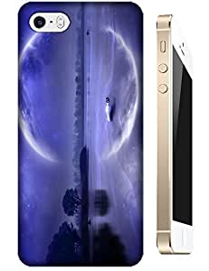 Purple ocean Moon cell phone new design for Apple Accessories iPhone 5/5S