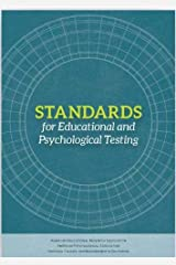 Standards for Educational and Psychological Testing Paperback