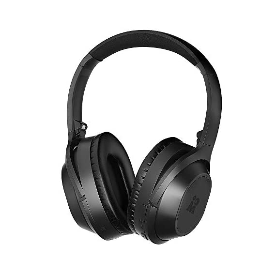 Mijiaer Active Noise Cancelling Headphones Bluetooth Headphones Wireless Headphones Over Ear with Mic, Stereo ANC Headphones, 35 Hrs Playtime for TV, PC, Phone, Laptop. - 41O0Xa6YSjL - Active Noise Cancelling Headphones Bluetooth Headphones Wireless Headphones Over Ear with Mic, Stereo ANC Headphones, 35 Hrs Playtime for TV, PC, Phone, Laptop.