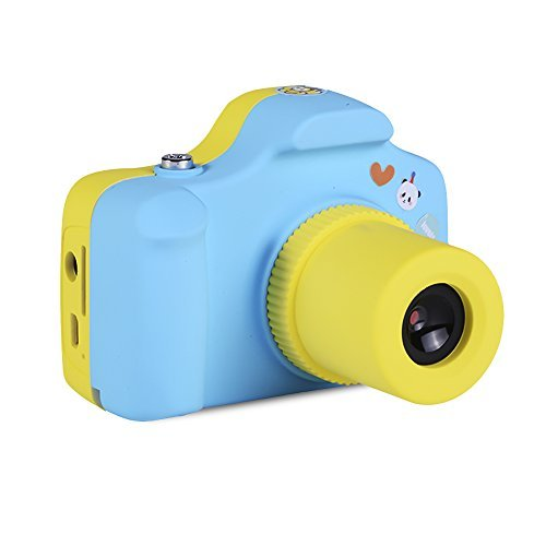 Powpro Pcam Pow-YT001 Mini 1.5 Inch Screen Children Kids Digital Camera (Blue)