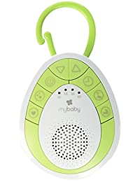 myBaby SoundSpa On-The-Go Sound Machine, Green, Small
